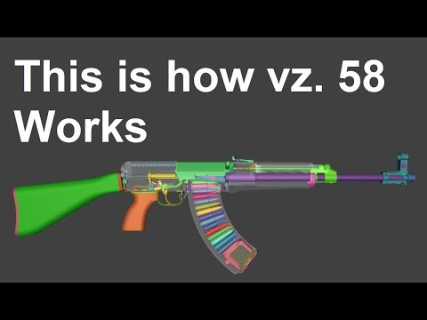This Is How Czech Vz. 58 Works In 3D