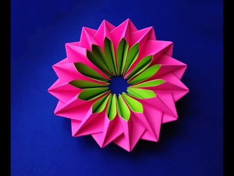 Easy and rich paper flower. DIY paper Easter decorations. RICH mandala.