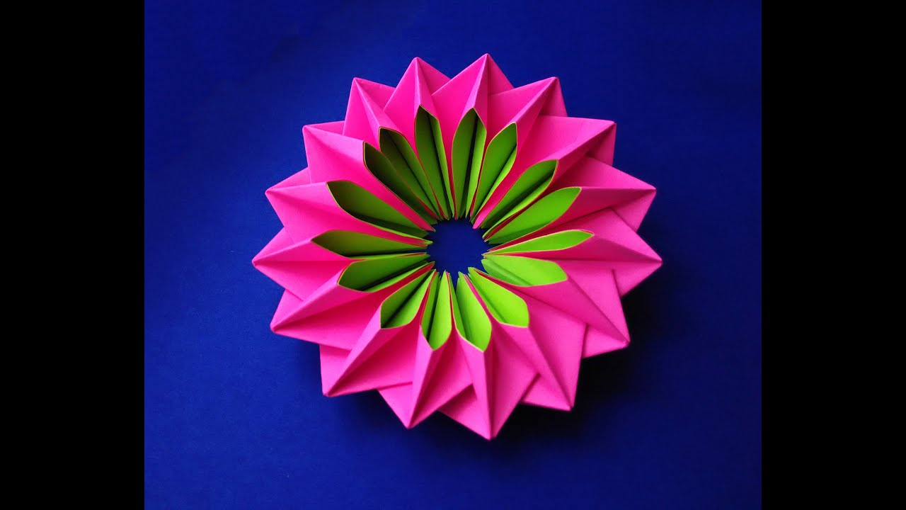 Easy And Rich Paper Flower DIY Easter Decor Awesome Mandala Bright Piece For Room Decoration