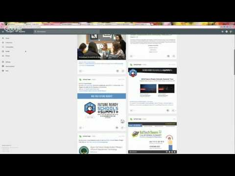 Session 9: Google +, Google Keep, and Extensions for Chrome