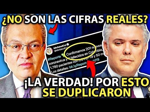ÚLTIMA HORA! Colombia rompe RÉCORD de casos C0NFIRMAD0S ¡NO están dando las CIFRAS REALES!