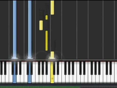 Alesana - The Third Temptation of Paris (Piano tutorial)
