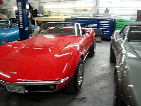 Corvette Shop | Kiss's Auto Body Repair