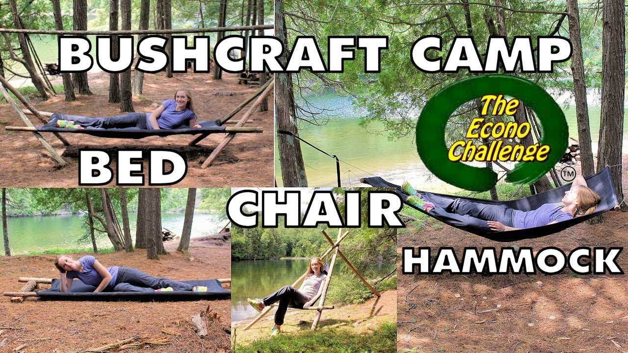amazing camp bed   bushcraft 4 in 1 camping hammock   bed   chair   cot amazing camp bed   bushcraft 4 in 1 camping hammock   bed   chair      rh   youtube