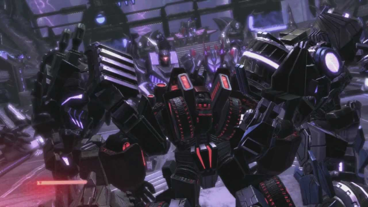Grimlock Fall Of Cybertron Wallpaper Transformers Fall Of Cybertron Megatron Vs Metroplex