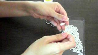 Плетение жгута из бисера