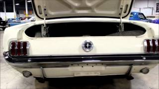 1965 Ford Mustang White