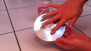 Tutorial: Kratzer aus einer CD oder DVD entfernen - Kratzer einfach aus einer CD oder DVD entfernen
