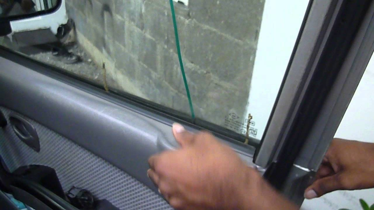 Slim Jim Car Opener >> Unlock car door with coat hanger - YouTube
