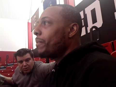 Paul Pierce talks about his final game at TD Garden #Celtics #Clippers