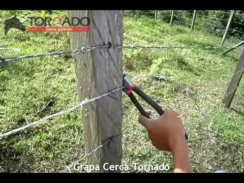 Grapa cerca youtube - Cercas de madera ...