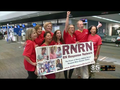 Bay Area Nurses Head To Puerto Rico On Humanitarian Mission
