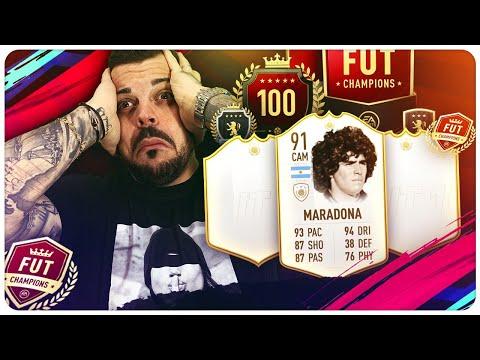 HO TROVATO MARADONA 91 ICONA ! 3 PACK ICON GARANTITA + PREMI WL FUTCHAMPIONS ! Pack Opening FIFA 19 thumbnail