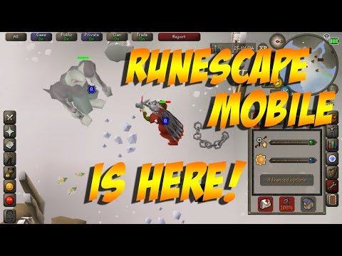 Runescape Mobile Open Beta Gameplay (2018)