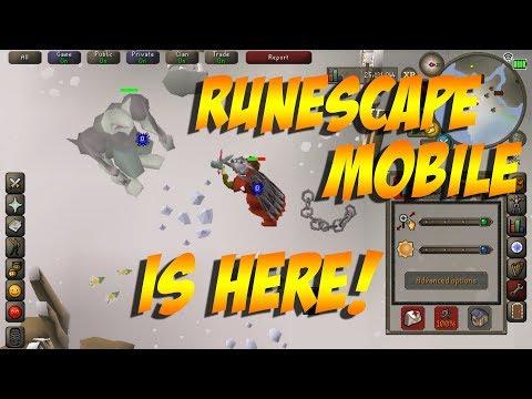 Runescape Mobile Open Beta Gameplay (2018)