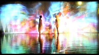猿沢池にプロジェクション映像を投影 ならアートナイト~水鏡~ 奈良国際映画祭