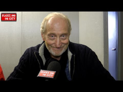 Game of Thrones Tywin Lannister Interview - Charles Dance