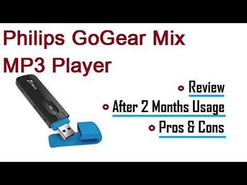 [Hindi] Philips GoGear Mix MP3 Player | After 2 Months Usage | Pros & Cons in Hindi - TDI