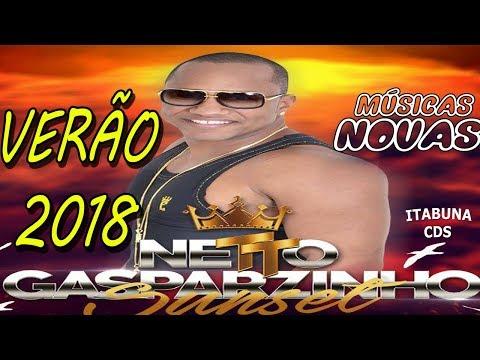 NETTO GASPARZINHO - CD NOVO 2018 MÚSICAS NOVAS VERÃO 2018 AO VIVO