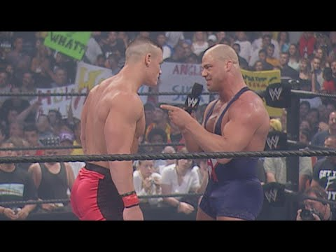 WWE Marquee Matches: John Cena unleashes ruthless aggression on Kurt Angle (WWE Network Exclusive)