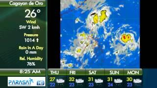 Parasat Weather Update Cagayan de Oro City: September 20, 2012