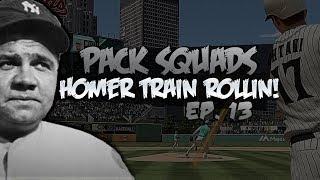 BEST PACK OF THE SERIES! PACK SQUADS #13 MLB THE SHOW 18