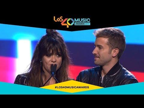 Vanesa Martín, premio a la artista del año | LOS40 Music Awards 2017
