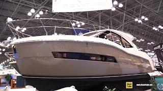 2015 Carver C37 Motor Yacht - Walkaround - 2015 New York Boat Show
