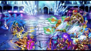 Brave Frontier Japan - Atharva Final Boss (Eriole & Tesura) + Ending