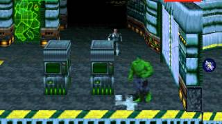 DOS Game: The Incredible Hulk - The Pantheon Saga