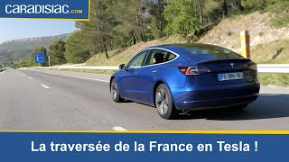 Tesla Model 3: peut-on traverser la France d'une traite sur autoroute?