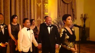Lea Salonga Sings I HAVE DREAMED at B&V's Wedding Ceremony