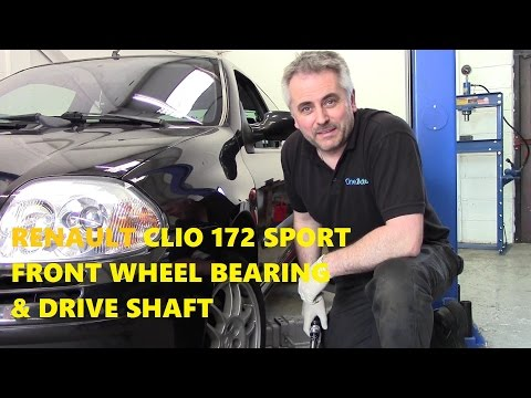 Renault Clio 172 Sport Front Wheel Bearing & Drive Shaft