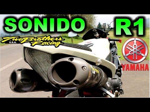 Sonido Yamaha  YZF R1 Two Brothers  Blitz Rider FT J-Sasso Rider  Sound