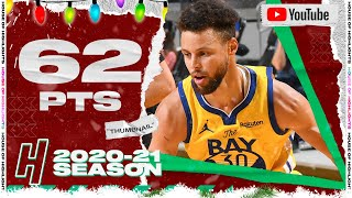 Stephen Curry UNREAL CAREER-HIGH 62 Points vs Trail Blazers | January 3, 2021