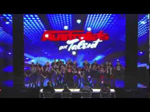 Australia's Got Talent 2013 | Auditions | Academy of Brothers Raise The Roof