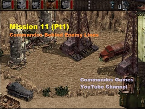 commandos behind enemy lines mission 11
