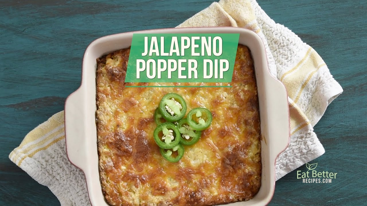 Baked Jalapeno Popper Dip Get The Party Started