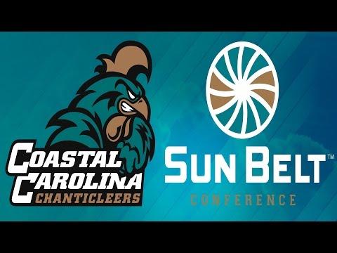Coastal Carolina joins the Sun Belt Conference