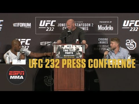 [FULL] UFC 232 Pre-fight Press Conference | ESPN MMA