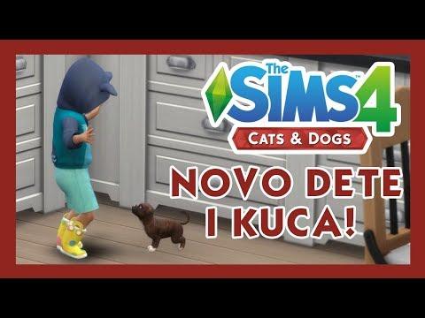 Cats & Dogs - SIMS 4 - NOVO DETE I KUČE - #13