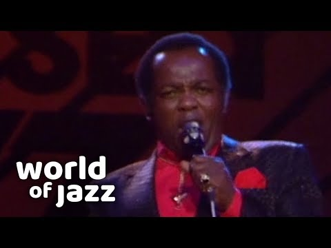 Lou Rawls Live At The North Sea Jazz Festival • 16-07-1989 • World Of Jazz