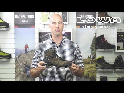 Introduction de la botte LOWA Camino GTX MID