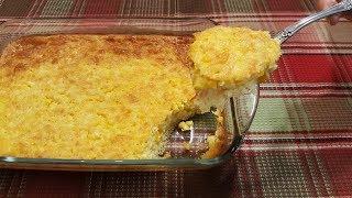 Corn PuddingCasserole - 100 Year Old Recipe - The Hillbilly Kitchen