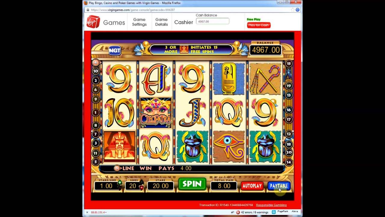 Slots Virgin Casino
