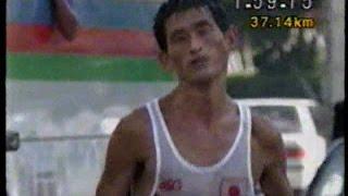 谷口浩美 '91世界陸上東京大会男子マラソン 国立競技場のセンターポールに日の丸を掲げた唯一のレジェンド