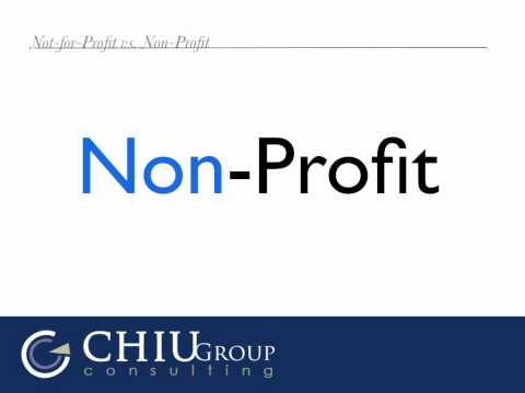 Non-Profit vs. Not-for-Profit: What's the Difference?