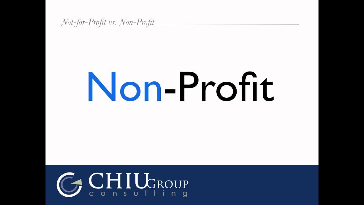 non profit vs profit More and more founders are setting out to start nonprofits here are the key  differences you'll encounter while founding a nonprofit or a for-profit.