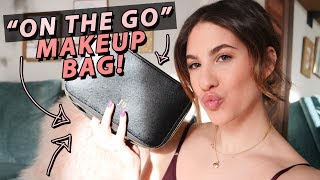 What's In My 'ON THE GO' MAKEUP BAG! | Jamie Paige