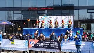 Волейбол на снегу & Масленица